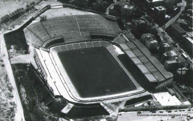 Estadio Metropolitano en la década de los 60 - Odio Eterno Al Fútbol Moderno