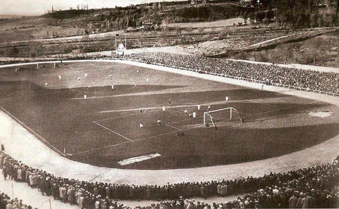 Stadium Metropolitano en los años 30 - Odio Eterno Al Fútbol Moderno