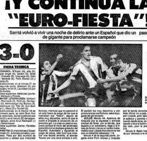 El Euro-Español era el equipo de moda - Odio Eterno Al Fútbol Moderno