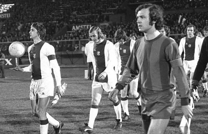 Beckenbauer y Cruyff competían por el trono futbolístico en los 70 - Odio Eterno Al Fútbol Moderno