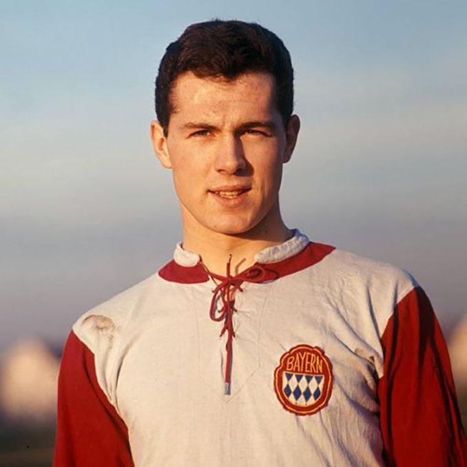 Franz Beckenbauer en sus primeros años en el Bayern de Múnich - Odio Eterno Al Fútbol Moderno