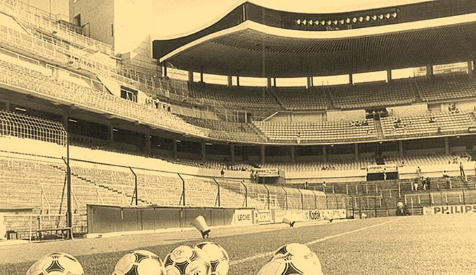 Gradas vacía del Bernabéu durante la huelga de futbolistas de 1984 - Odio Eterno Al Fútbol Moderno