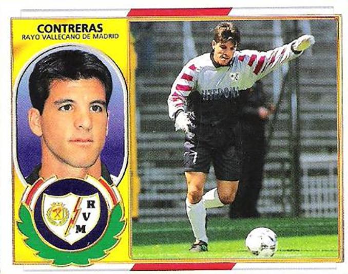 "Cromo de ""Koke ""Contreras - Odio Eterno Al Fútbol Moderno"
