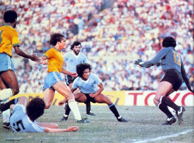 Final de la Copa de Oro de Campeones Mundiales en el Estadio Centenario - Odio Eterno Al Fútbol Moderno