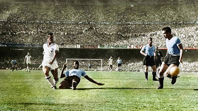 Friaça marcó el gol de Brasil ante Uruguay en 1950 - Odio Eterno Al Fútbol Moderno