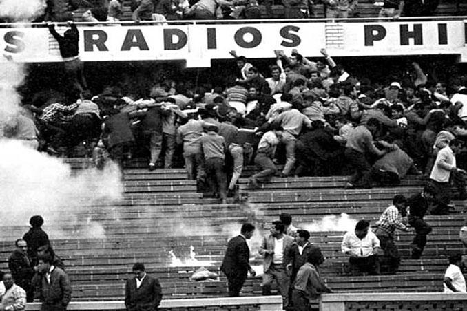 El 24 de mayo de 1964 el Estadio Nacional del Perú vivió la mayor tragedia en el fútbol - Odio Eterno Al Fútbol Moderno