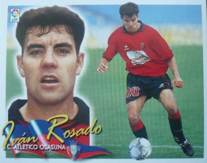 Cromo de Iván Rosado - Odio Eterno Al Fútbol Moderno