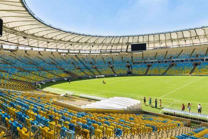 Interior del Estadio de Maracaná - Odio Eterno Al Fútbol Moderno