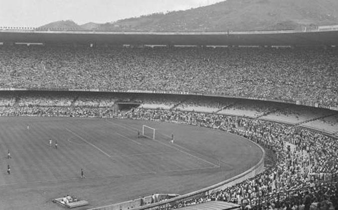El Estadio de Maracaná registró la mayor asistencia a un partido de fútbol el 16 de julio de 1950 - Odio Eterno Al Fútbol Moderno