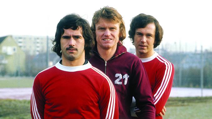 Gerd Müller, Sepp Maier y Franz Beckenbauer - Odio Eterno Al Fútbol Moderno