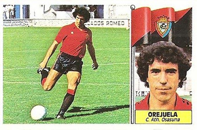 Cromo de Jesús Orejuela - Odio Eterno Al Fútbol Moderno