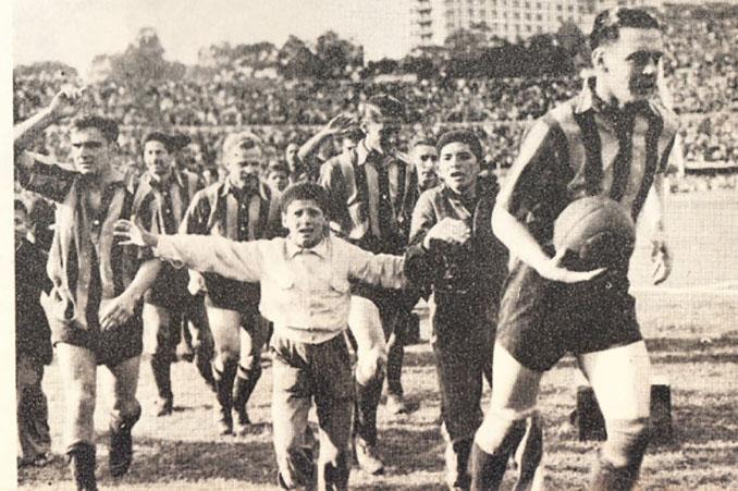 Club Atlético Peñarol en 1949 - Odio Eterno Al Fútbol Moderno