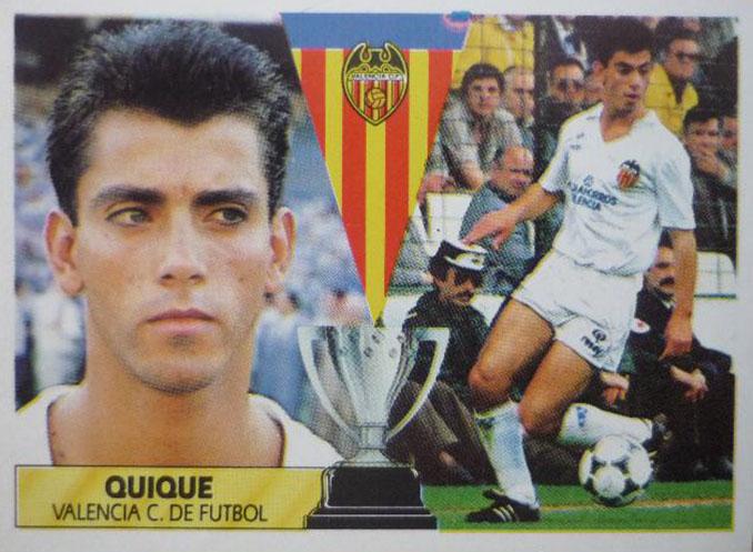 Cromo de Quique Sánchez Flores - Odio Eterno Al Fútbol Moderno