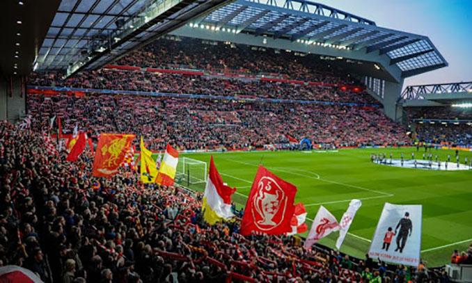 The Kop es la grada más grande de Anfield - Odio Eterno Al Fútbol Moderno