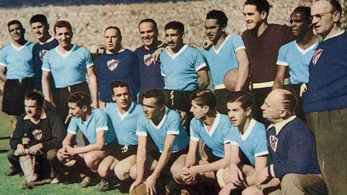 Uruguay campeón del mundo en 1950 - Odio Eterno Al Fútbol Moderno