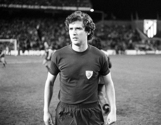 Ángel María Villar con la camiseta del Athletic Club - Odio Eterno Al Fútbol Moderno