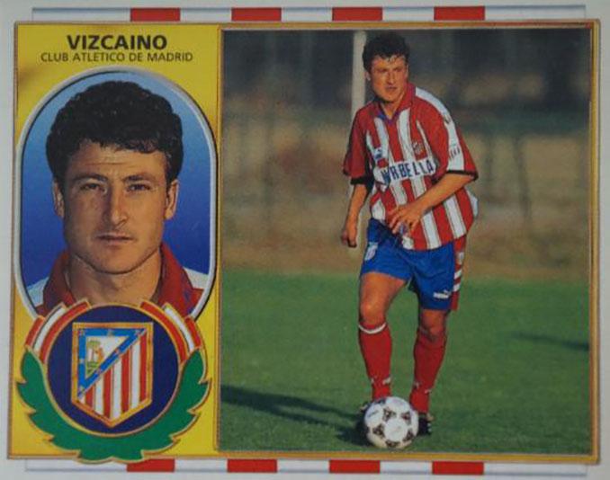 Cromo de Juan Vizcaíno - Odio Eterno Al Fútbol Moderno