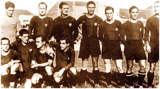 FC Barcelona en la 1933-1934. La peor temporada de su historia - Odio Eterno Al Fútbol Moderno