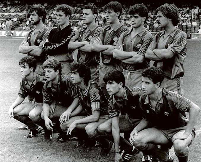 Once presentado por el FC Barcelona en 1984 durante la huelga de futbolistas - Odio Eterno Al Fútbol Moderno