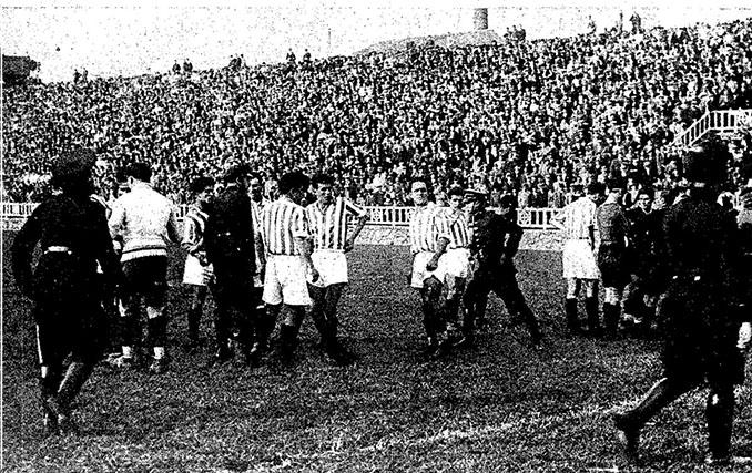 Enfrentamiento copero entre Real Betis y FC Barcelona en 1934 - Odio Eterno Al Fútbol Moderno