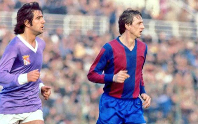 Cruyff en su debut con el Levante UD frente al CF Palencia - Odio Eterno Al Fútbol Moderno