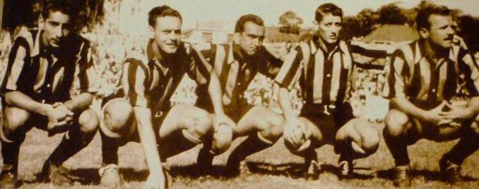 """Ghiggia, Hohberg, Míguez Schiaffino y Vidal formaban """"La escuadrilla de la muerte"""" de Peñarol - Odio Eterno Al Fútbol Moderno"""