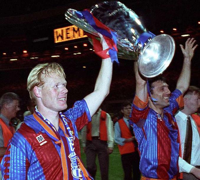 Koeman y Stoichkov, dos piezas fundamentales en la primera Copa de Europa del FC Barcelona - Odio Eterno Al Fútbol Moderno