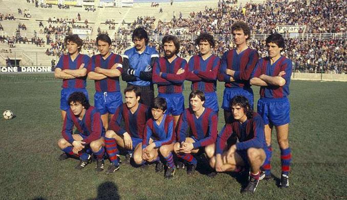 Cruyff en el once inicial del Levante en la temporada 1980-1981 - Odio Eterno Al Fútbol Moderno