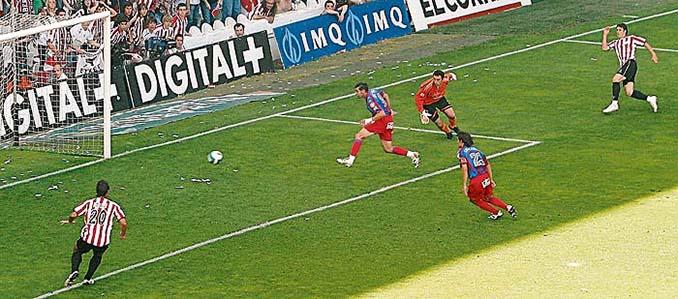 Gol en propia meta del Levante UD en la última jornada de la 2006-2007 - Odio Eterno Al Fútbol Moderno