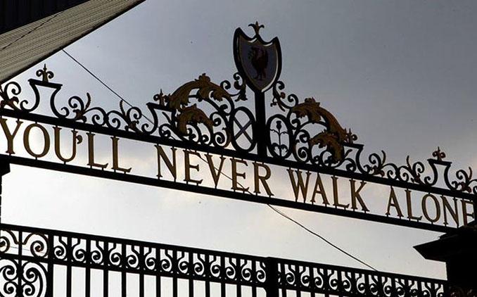 La puerta Bill Shankly es uno de los lugares más emblemáticos de Anfield - Odio Eterno Al Fútbol Moderno