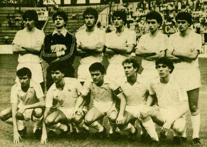 Real Madrid durante la jornada de la huelga de futbolistas en 1984 - Odio Eterno Al Fútbol Moderno