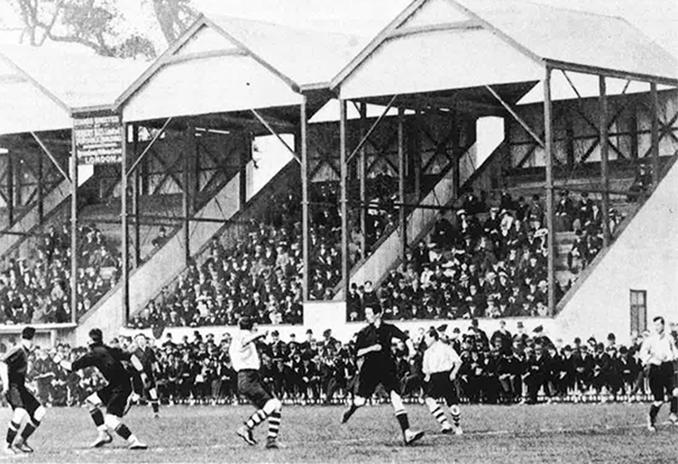 Craven Cottage en 1903 - Odio Eterno Al Fútbol Moderno