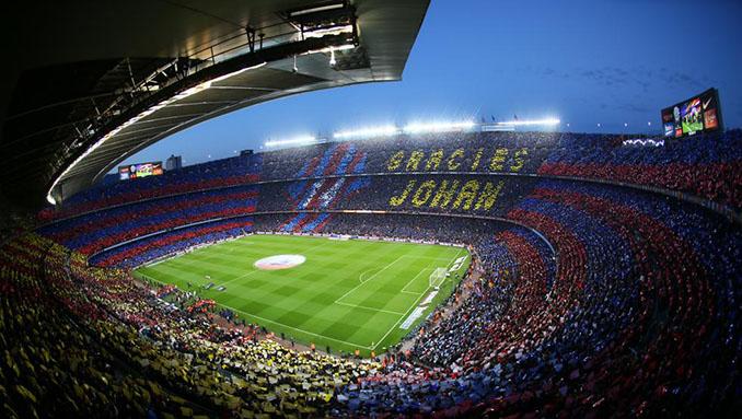 Homenaje a Johan Cruyff en el Camp Nou - Odio Eterno Al Fútbol Moderno