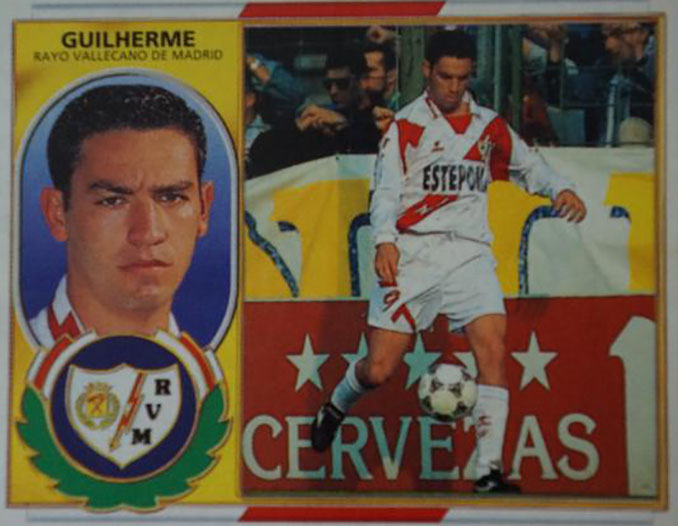 Cromo de Guilherme - Odio Eterno Al Fútbol Moderno