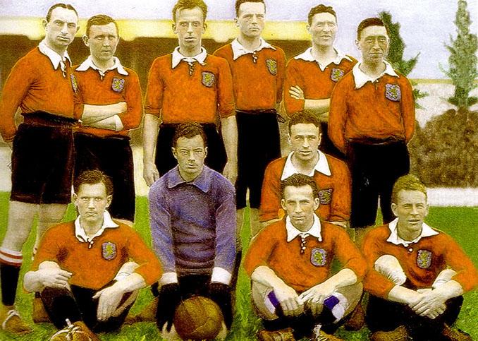 Selección holandesa en 1920 - Odio Eterno Al Fútbol Moderno