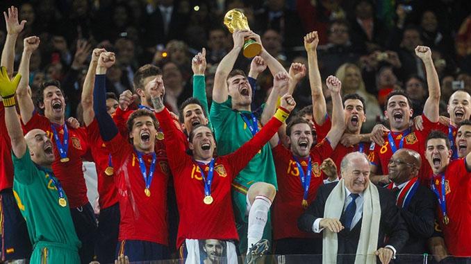España campeona del mundo en 2010 - Odio Eterno Al Fútbol Moderno