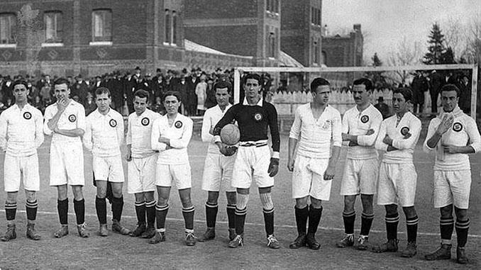 El Real Madrid forma para de los equipos reales desde 1920 - Odio Eterno Al Fútbol Moderno