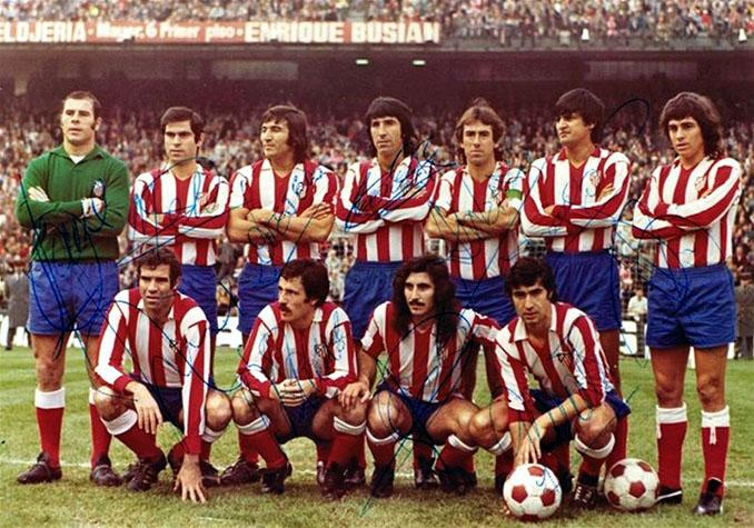 Atlético Madrid en la temporada 1973-1974 - Odio Eterno Al Fútbol Moderno