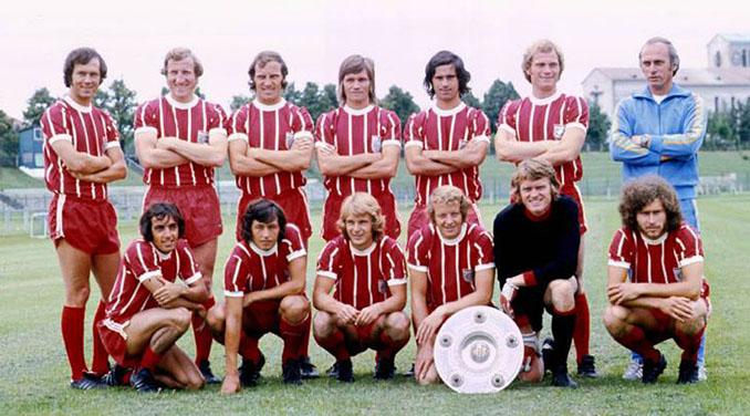 Bayern de Múnich en 1973 - Odio Eterno Al Fútbol Moderno