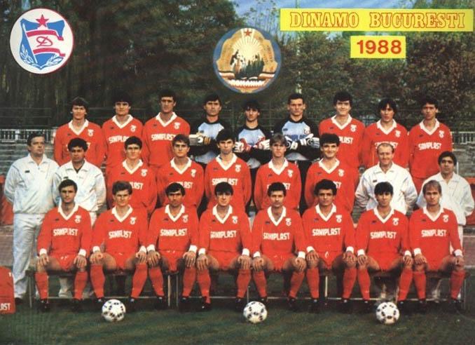Dinamo de Bucarest en 1988, el equipo de la Securitae - Odio Eterno Al Fútbol Moderno
