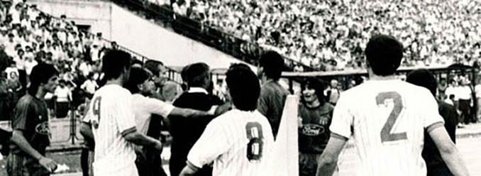 Tangana en al final de la Copa de Rumanía de 1988 - Odio Eterno Al Fútbol Moderno