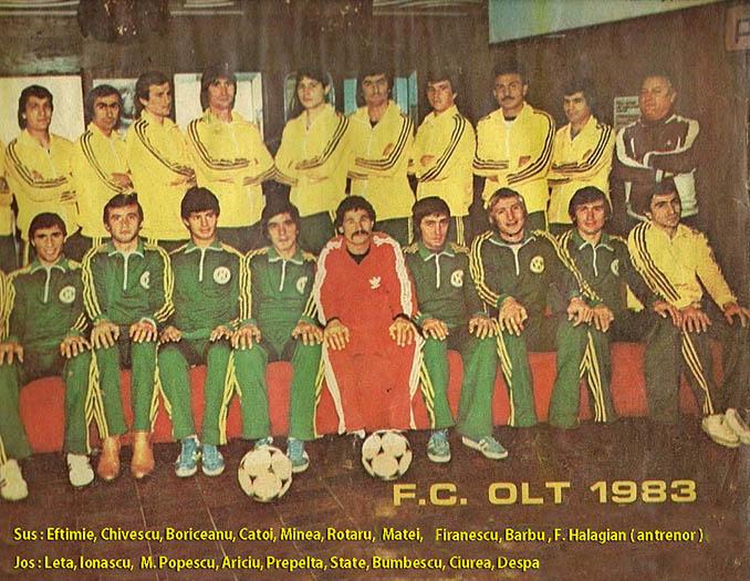 FC Olt Scornicești en 1983, el equipo apadrinado por Ceaucescu - Odio Eterno Al Fútbol Moderno