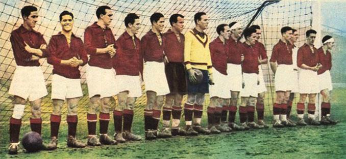 Selección Española en 1920 - Odio Eterno Al Fútbol Moderno