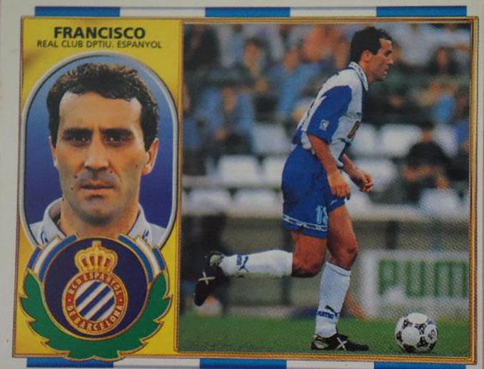 Cromo de Francisco López Alfaro - Odio Eterno Al Fútbol Moderno