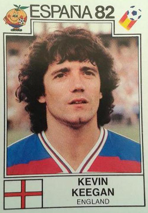 Cromo de Kevin Keegan - Odio Eterno Al Fútbol Moderno