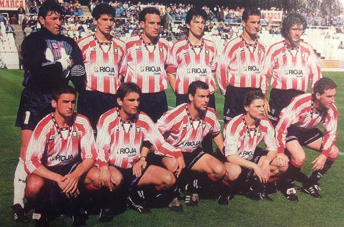 CD Logroñés en la temporada 1994-1995 - Odio Eterno Al Fútbol Moderno