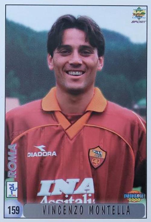 Cromo de Vincenzo Montella - Odio Eterno Al Fútbol Moderno