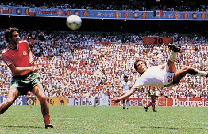Gol de Negrete a Bulgaria en México '86 - Odio Eterno Al Fútbol Moderno