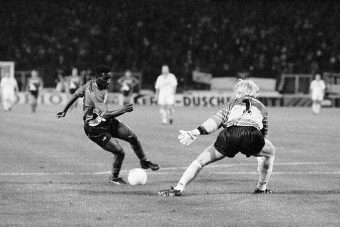 El gol de Okocha a Kahn es historia de la Bundesliga - Odio Eterno Al Fútbol Moderno