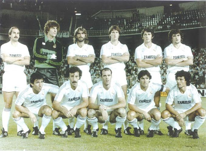 Real Madrid cinco veces subcampeón en la temporada 1982-1983 - Odio Eterno Al Fútbol Moderno